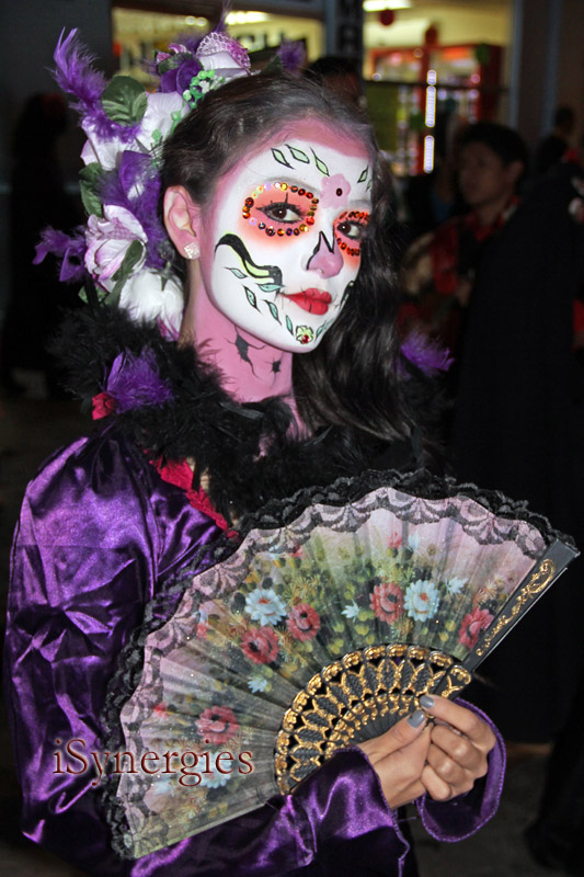 Day of the Dead Catrina in Nogales, Mexico