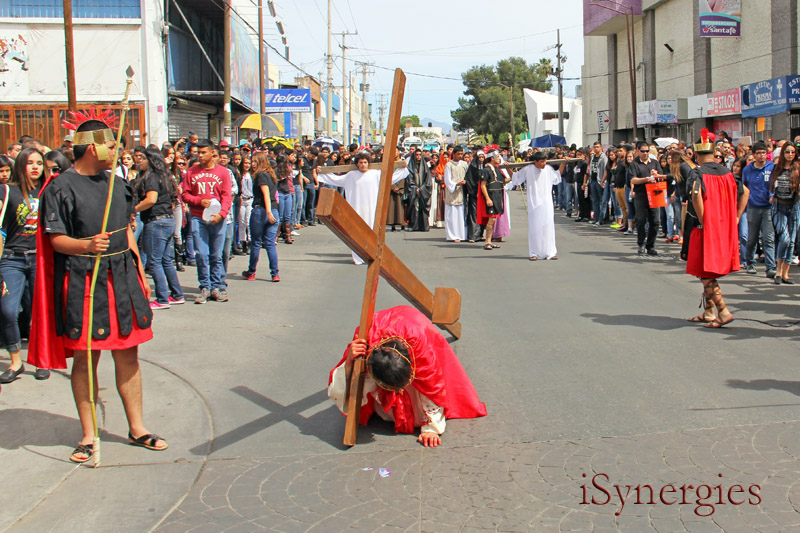 Procesión de Viernes Santo en Nogales, México