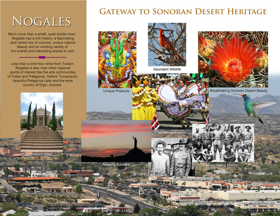 Nogales Arizona tourism brochure designed by iSynergies