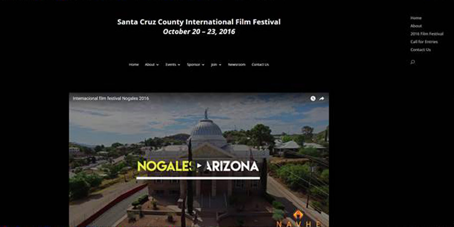 Virtual Nogales website designed and managed by iSynergies